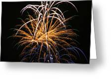 Fireworks 6 Greeting Card by Paul Marto