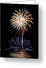 Fireworks  Abound Greeting Card by Bill Pevlor