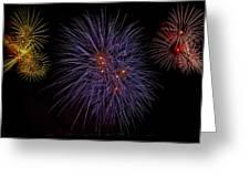 Fireworks Greeting Card by Joana Kruse