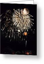 Fireworks Greeting Card by Michelle Calkins