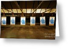 Firing Range Greeting Card by Skip Nall