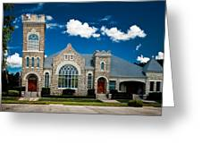 First Presbyterian Church Of Eustis Greeting Card by Christopher Holmes