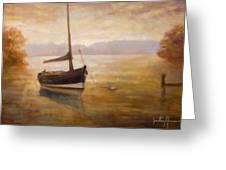 Fishing Boat Greeting Card by Jonathan Howe