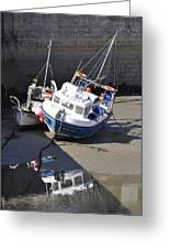 Fishing Boats Greeting Card by Charlotte May-Photography