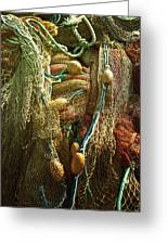 Fishing Nets Greeting Card by Joana Kruse