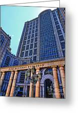 Five Hundred Boylston - Boston Architecture Greeting Card by Julia Springer