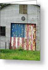 Flag Day 1951 Greeting Card by Todd Sherlock