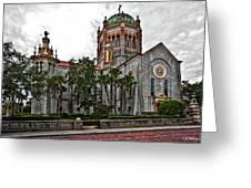 Flagler Memorial Presbyterian Church 2 Greeting Card by Christopher Holmes