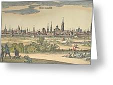 Flanders: Bruges, 1720 Greeting Card by Granger