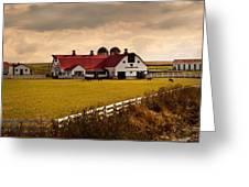 Flemingsburg Farm Ky Greeting Card by Randall Branham