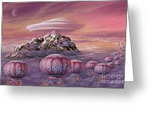 Floaters Greeting Card by Lynette Cook