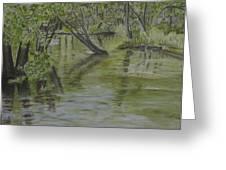 Flood Greeting Card by Heather Perez