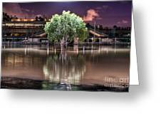 Flooded Tree Greeting Card by Sonny Marcyan