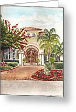 Floridian Ease Greeting Card by Andrea Timm