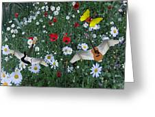 Flower Power  Greeting Card by Eric Kempson