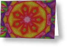 Flower Power Greeting Card by Stefan Kuhn