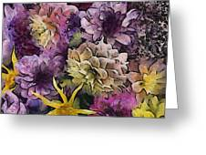 Flower Power Greeting Card by Trish Tritz