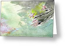 Flowers 3 Greeting Card by Anil Nene