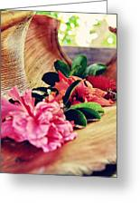 Flowers Greeting Card by Benjamin Matthijs