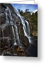 Flows Greeting Card by Dave Cox