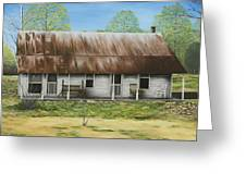 Floyd Arkansas' Oldest House Greeting Card by Mary Ann King