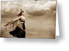 Flying Dreams Greeting Card by Cindy Singleton