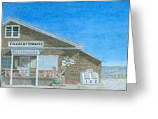 F.o. Goldthwaite Greeting Card by Dominic White