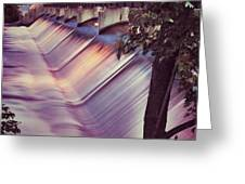Foaming Fox River Greeting Card by Shutter Happens Photography