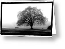 Foggy Day H-4 Greeting Card by Mauro Celotti