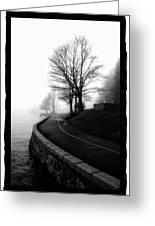 Foggy Day V-6 Greeting Card by Mauro Celotti