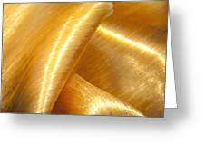 Folding Gold Greeting Card by Artist and Photographer Laura Wrede