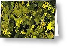 Foliage Greeting Card by Hema Rana