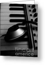 For The Luv Of Music Greeting Card by Stacy Devanney