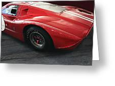 Ford Gt 40 Lemans Winner 1967 Greeting Card by Curt Johnson