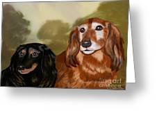 Forever Friends Greeting Card by Linda Marcille