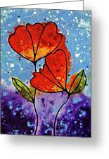 Forever Yours Greeting Card by Sharon Cummings