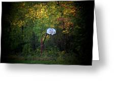Forgotten Hoop Greeting Card by Michael L Kimble