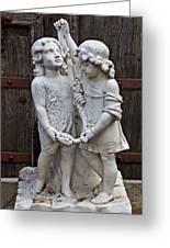 Forgotten Statue Greeting Card by Garry Gay