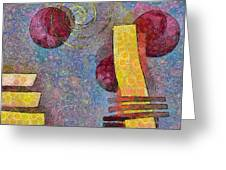 Formes - 08a Greeting Card by Variance Collections