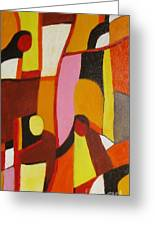 Four Women Greeting Card by Nedunseralathan R