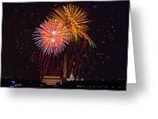 Fourth Of July Greeting Card by David Hahn