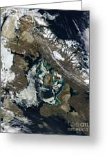 Foxe Basin, Northern Canada Greeting Card by Stocktrek Images