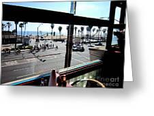 Freds Huntington Beach Greeting Card by RJ Aguilar