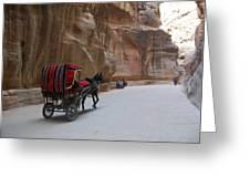 Free Ride Greeting Card by Munir Alawi