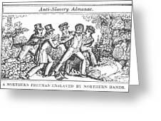 Freedman Enslaved, 1839 Greeting Card by Granger