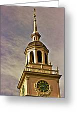 Freedom Rings Greeting Card by Tom Gari Gallery-Three-Photography