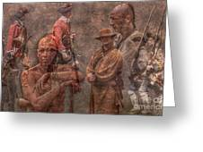 French And Indian War 1754 - 1763 Greeting Card by Randy Steele