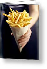 French Fries Greeting Card by David Munns