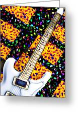 Frets Greeting Card by Bill Cannon