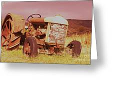 From Harvests Gone By Greeting Card by Jeff  Swan